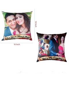16 x 16 Pillow Front & Back Printing