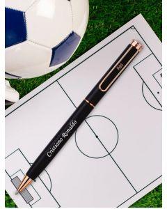Personalized Black Rose Pen