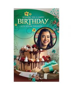 Customised Birthday Greeting Card