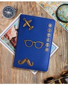 Royal Blue Passport cover