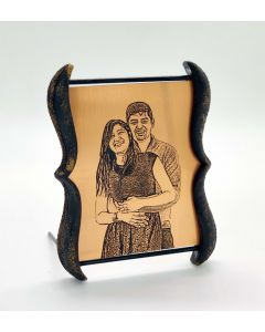 Handcrafted Engraved Plaque