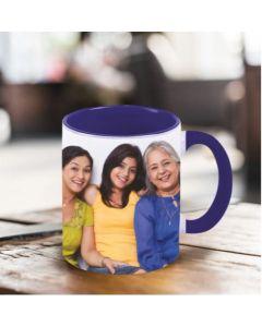 In. Blue Mug