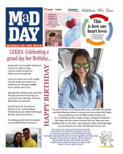Personalised News Paper