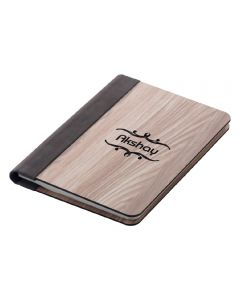 Wooden A5 Diary