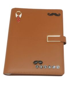 Name Personalised Charm Diary