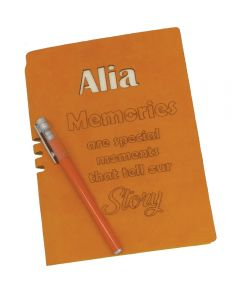 Name Engraved Personalised Diary
