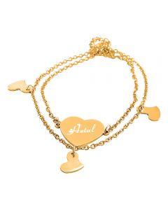 Ladies Bracelet Heart