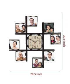 8-Foto Subli Wood Wooden Wall Clock